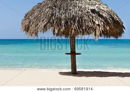 Sunshade At Tranquil Beach
