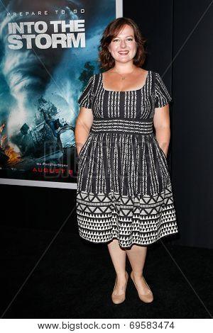 NEW YORK-AUG 4: Actress Zuzanna Szadkowski attends the