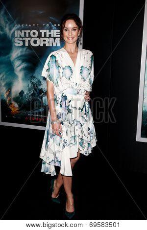 NEW YORK-AUG 4: Actress Sarah Wayne Callies attends the