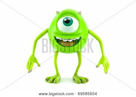 Mike character toy form Monster inc