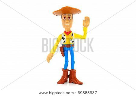 Wood toy character from Disney Toy Story animation