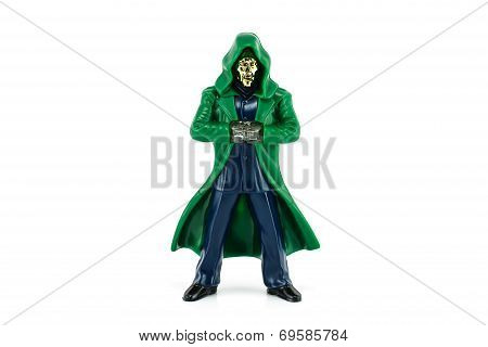 Dr. Doom character form Marvel Comics