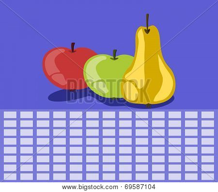 Fruit timetable