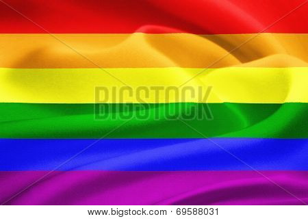 Rainbow Gay Flag