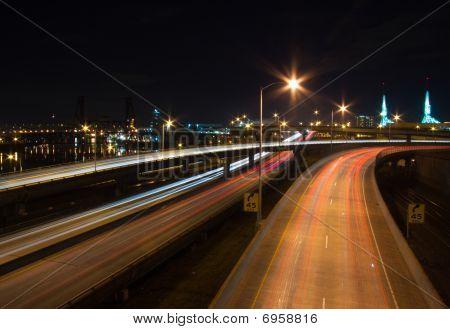 Portland, Or Night