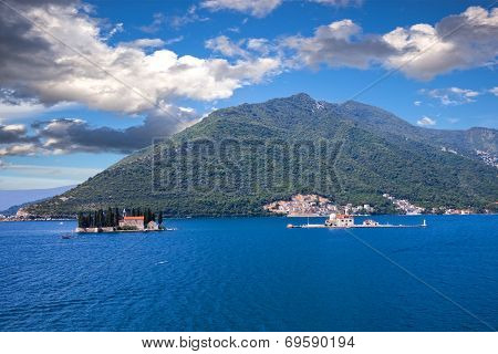 Islands Off The Coast Of Perast