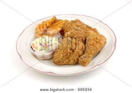 Fried Chicken Plate