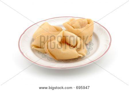 Fried Wanton Plate