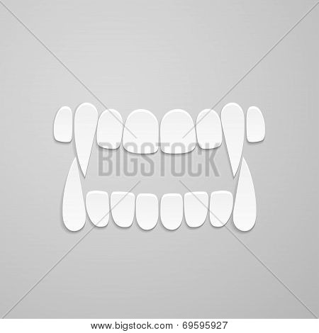 Jaw With Canines