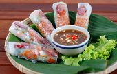 foto of rice noodles  - Wrapped rolls - JPG
