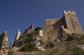 picture of templar  - Castle Templar origin located in Alcal� de Xivert in 