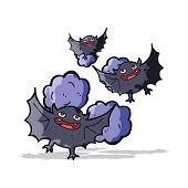 pic of vampire bat  - cartoon vampire bats - JPG