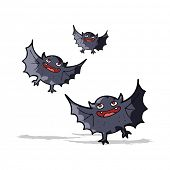 pic of vampire bat  - cartoon vampire bats - JPG