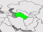 image of turkmenistan  - Map of worlds - JPG