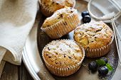 picture of substitutes  - Gluten free almond and oat muffins with apple and chocolate chips