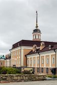 image of artillery  - The main building of the Artillery Foundry is remarkable architectural monument of a military character in the Kazan Kremlin Russia - JPG
