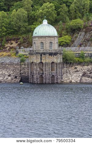 Foel Tower, Water Intake In The Garreg-ddu Reservoir.
