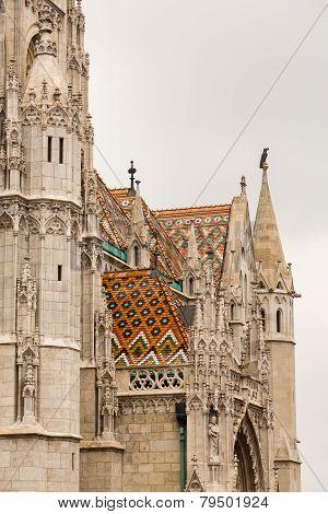 Mattias Church In Castle Hill Budapest