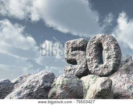 Number Fifty Rock