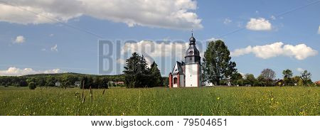 Village Church In The Taunus