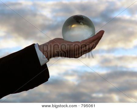 Globe in the Clouds