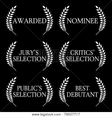 Film Awards And Nominations Black And White 1