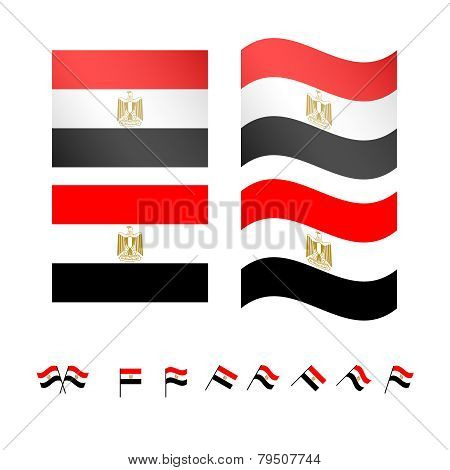 Egypt Flags