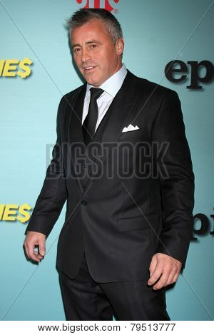 LOS ANGELES - JAN 5:  Matt LeBlanc at the Showtime Celebrates All-New Seasons Of