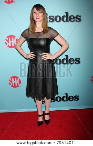 LOS ANGELES - JAN 5:  Isidora Goreshter at the Showtime Celebrates All-New Seasons Of