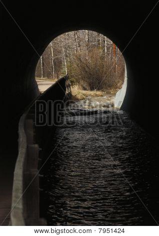 Culvert path