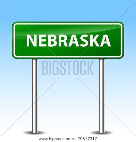 Nebraska Green Sign