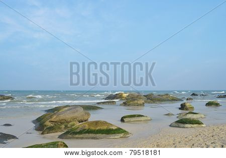 Rocks On Hua Hin Beach