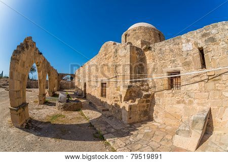 Panagia Katholiki Church. Kouklia Village, Paphos District. Cyprus