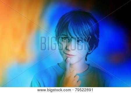 child colorful imagination