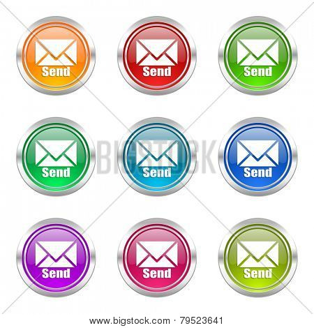 send icons set post sign