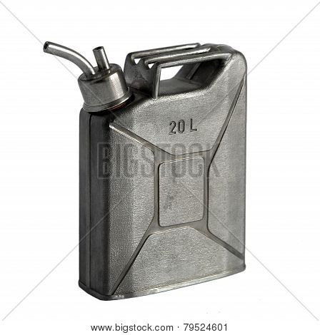 Flask In The Shape Of The Canister