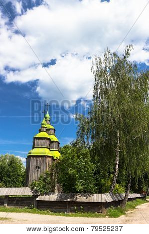 Zarubincy village church,