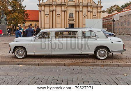 Limousine Car Warszawa Model 223 In Warsaw, Poland