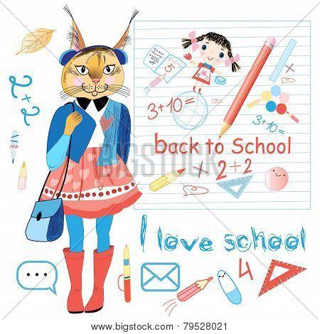 Funny Schoolgirl Trot