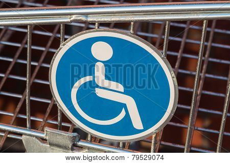 Wheelchair User Diasbled Sign