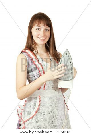 Girl In With Iron