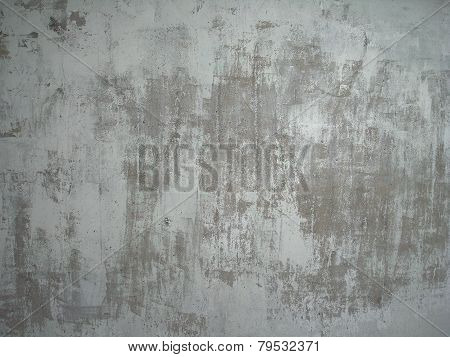 Background with gray grunge wall