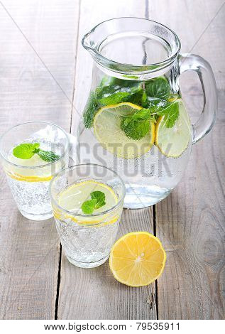 Lemon And Mint Fizz