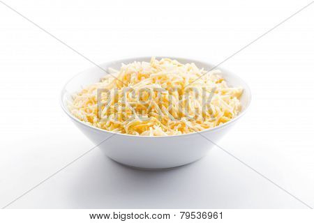 Mix Of Cheese In A Bowl