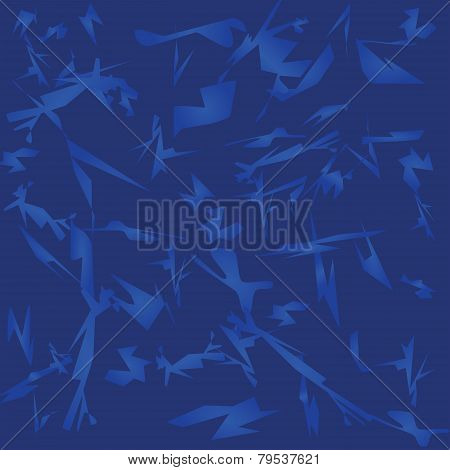 Shades Of Blue Abstract Background