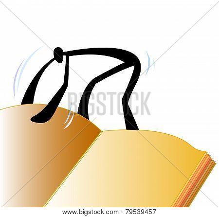Shadow Man Open Book.eps
