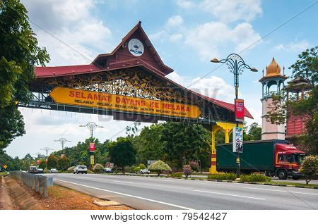 Welcome To Melaka Gate