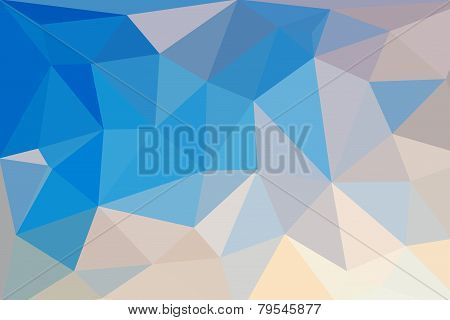 Low Poly Triangular Abstract Background
