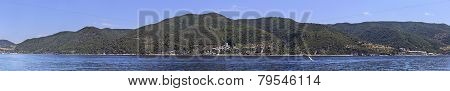 Panorama of Mount Athos