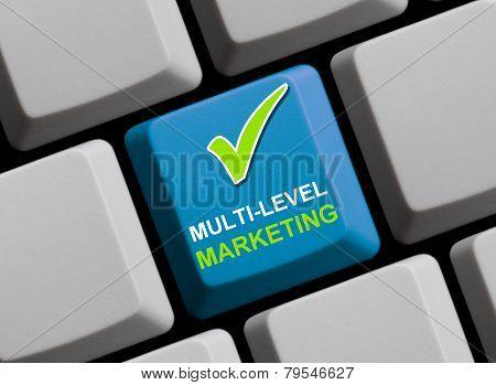 Computer Keyboard multi-level marketing